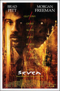 """Movie Posters:Crime, Seven (New Line, 1995). Rolled, Very Fine-. One Sheets (2) (27"""" X 41"""") DS, Regular & Advance. Crime.. ... (Total: 2 Items)"""
