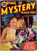 Pulps:Horror, Dime Mystery Magazine - May 1943 (Popular) Condition: VG/FN....