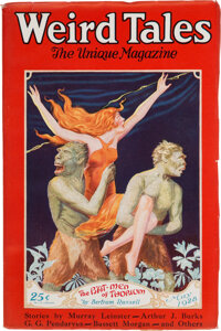 Weird Tales - May 1928 Margaret Brundage File Copy (Popular Fiction) Condition: VF