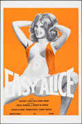 """Movie Posters:Adult, Easy Alice (California Continental Cinema, 1976). Flat Folded, Very Fine. One Sheet (27"""" X 41""""). Adult.. ..."""