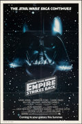 """Movie Posters:Science Fiction, The Empire Strikes Back (20th Century Fox, 1980). Folded, Very Fine+. One Sheet (27"""" X 41"""") Advance. Science Fiction.. ..."""