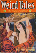 Pulps:Horror, Weird Tales - February 1932 Margaret Brundage File Copy (P...