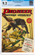 Golden Age (1938-1955):War, Pioneer Picture Stories #5 (Street & Smith, 1942) CGC NM- 9.2 Cream to off-white pages....