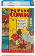 Platinum Age (1897-1937):Miscellaneous, Popular Comics #19 (Dell, 1937) CGC VG 4.0 Cream to off-white pages....