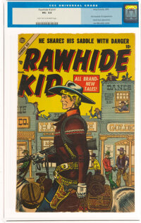 Rawhide Kid #1 (Marvel, 1955) CGC VG- 3.5 Light tan to off-white pages