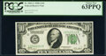 Fr. 2001-L $10 1928A Federal Reserve Note. PCGS Choice New 63PPQ