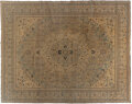 Textiles, A Tabriz Rug. 167-3/4 x 120-1/4 inches (426.1 x 305.4 cm). Note this lot is sold as part of a bankruptcy. The IRS requi...