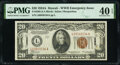 Small Size:World War II Emergency Notes, Fr. 2305 $20 1934A Hawaii Federal Reserve Note. PMG Extremely Fine 40 EPQ.. ...