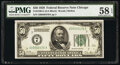 Small Size:Federal Reserve Notes, Fr. 2100-G $50 1928 Federal Reserve Note. PMG Choice About...
