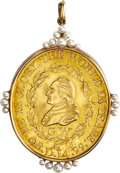 (1800) George Washington Funeral Medal, Gold, Baker-169, Musante GW-75 (A)--Cleaned--Uncertified. Unc Details