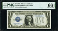 Small Size:Silver Certificates, Fr. 1600 $1 1928 Silver Certificate. PMG Gem Uncirculated 66 EPQ.. ...