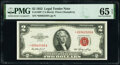 Small Size:Legal Tender Notes, Fr. 1509* $2 1953 Legal Tender Star Note. PMG Gem Uncirculated 65 EPQ.. ...