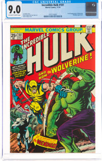 The Incredible Hulk #181 (Marvel, 1974) CGC VF/NM 9.0 Off-white to white pages
