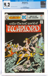 Warlord #1 (DC, 1976) CGC NM- 9.2 White pages