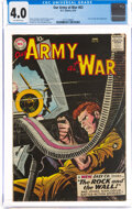 Silver Age (1956-1969):War, Our Army at War #83 (DC, 1959) CGC VG 4.0 Off-white pages....