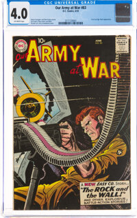 Our Army at War #83 (DC, 1959) CGC VG 4.0 Off-white pages