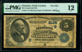 Charlotte, NC - $5 1882 Date Back Fr. 534 The Commercial National Bank Ch. # (S)2135 PMG Fine 12.</