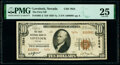 National Bank Notes:Nevada, Lovelock, NV - $10 1929 Ty. 2 The First National Bank Ch. # 7654 PMG Very Fine 25.. ...