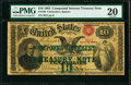 Large Size:Compound Interest Treasury Notes, Fr. 190 $10 1863 Compound Interest Treasury Note PMG Very Fine 20.. ...