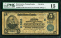 National Bank Notes:Pennsylvania, Intercourse, PA - $5 1902 Plain Back Fr. 600 The First National Bank Ch. # (E)9216 PMG Choice Fine 15.. ...