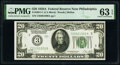 Fr. 2051-C $20 1928A Federal Reserve Note. PMG Choice Uncirculated 63 EPQ