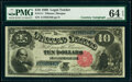 Large Size:Legal Tender Notes, Courtesy Autographed Fr. 111 $10 1880 Legal Tender PMG Choice Uncirculated 64 EPQ.. ...