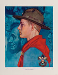 Prints & Multiples, Norman Rockwell (American, 1894-1978). Scouting Through the Eyes of Norman Rockwell, Boxed Set of 44 prints #2768. ...