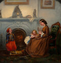 Mainstream Illustration, Thomas Nast (American, 1840-1902). The Little Zouave, 1862. Oil on canvas. 23 x 23 inches (58.4 x 58.4 cm). Signed and d...