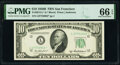 Small Size:Federal Reserve Notes, Fr. 2012-L* $10 1950B Federal Reserve Star Note. PMG Gem Uncirculated 66 EPQ.. ...