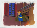 "Original Comic Art:Miscellaneous, X-Men ""Dazzled"" Animation Cel and Background, Group of 2 OriginalArt (Marvel, circa 1990s). This group lot offers:1) a port...(Total: 2 items Item)"