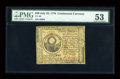 Colonial Notes:Continental Congress Issues, Continental Currency July 22, 1776 $30 PMG About Uncirculated53....