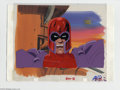 """Original Comic Art:Miscellaneous, X-Men """"The Fate of Phoenix"""" and """"The Juggernaut"""" Animation Cel and Background, Group of 2 Original Art (Marvel, circa 1990s).... (2 items)"""