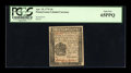 Colonial Notes:Pennsylvania, Pennsylvania April 25, 1776 3d PCGS Gem New 65PPQ....
