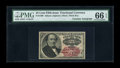 Fractional Currency:Fifth Issue, Fr. 1309 25c Fifth Issue Courtesy Autograph PMG Gem Uncirculated 66EPQ....