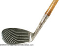 Golf Collectibles:Clubs - Wood Shaft, Patent/Unusual, Patented Spalding Kroflite model waterfall pitcher. This ...