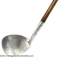 "Golf Collectibles:Clubs - Wood Shaft, Foreign, ""Junior Mammoth niblick"" manufactured by Cochranes Ltd in ..."