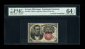 Fractional Currency:Fifth Issue, Fr. 1266 10c Fifth Issue Courtesy Autograph PMG Choice Uncirculated64 EPQ....