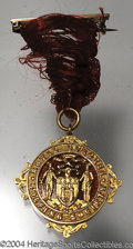 Golf Collectibles:Medals/Jewelry, Royal Burgess Golf Society's Past Captains Medal. With ...