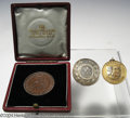 Golf Collectibles:Medals/Jewelry, Three good medals. Included are a 9K gold medal won in ... (4items)