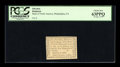 Colonial Notes:Pennsylvania, Pennsylvania Bank of North America August 6, 1789 1d PCGS ChoiceNew 63PPQ. ...