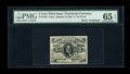 Fractional Currency:Third Issue, Fr. 1239 5c Third Issue Courtesy Autograph PMG Gem Uncirculated 65 EPQ....