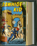 Bronze Age (1970-1979):Western, Rawhide Kid #81-100 Bound Volume (Marvel, 1970-72)....