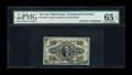 Fractional Currency:Third Issue, Fr. 1255 10c Third Issue Courtesy Autograph PMG Gem Uncirculated 65 EPQ....