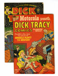 Golden Age (1938-1955):Crime, Dick Tracy Motorola Giveaway #nn Group (Harvey, 1953) Condition: Average GD/VG.... (Total: 27 Comic Books)