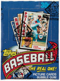 Baseball Cards:Unopened Packs/Display Boxes, 1984 Topps Baseball Wax Box With 36 Unopened Packs - Mattingly Rookie Year! ...