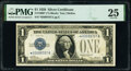 Small Size:Silver Certificates, Fr. 1600* $1 1928 Silver Certificate Star. PMG Very Fine 25.. ...