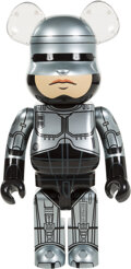 Collectible, BE@RBRICK X MGM. RoboCop 1000%, 2018. Painted cast resin. 28 x 13-1/4 x 9-1/2 inches (71.1 x 33.7 x 24.1 cm). Stamped to...