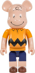 Collectible, BE@RBRICK X Peanuts. Charlie Brown 1000%, 2017. Painted cast resin. 28 x 14 x 9 inches (71.1 x 35.6 x 22.9 cm). Stamped ...