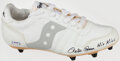 """Autographs:Others, Pete Rose """"Hit King"""" Signed Cleat. ..."""
