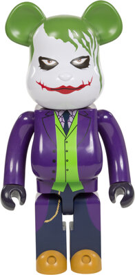 BE@RBRICK X DC Comics The Joker 1000% from The Dark Knight Trilogy, 2015 Painted cast resin 28 x 14 x 9 inches (71.1
